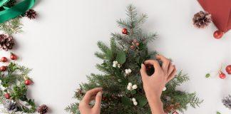 Asztali karácsonyfa tippek, ha nem akarsz élő fát