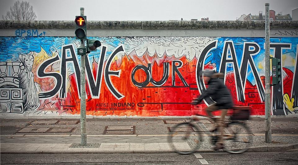 East Side Gallery - Berlini látnivalók