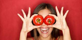 Az egészséges szem kívánsága például a paradicsom