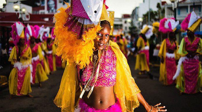Guadeloupe, karibi karnevál