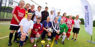 A sétálós foci a nők nagy kedvence (forrás: www.eventbrite.co.uk)