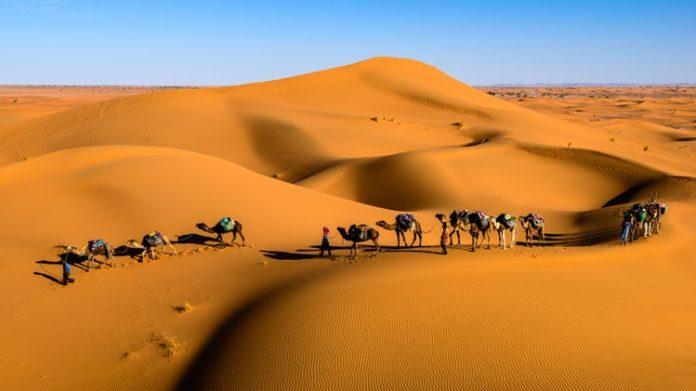 Marokkó egyik leglátványosabb területe a Szahara