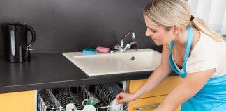 A mosogatógép alkatrészein összegyűlik a szennyeződés