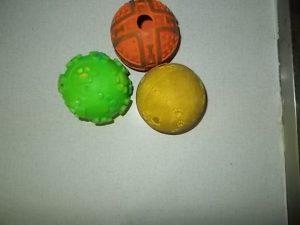 A labdáim (szerző fotója)