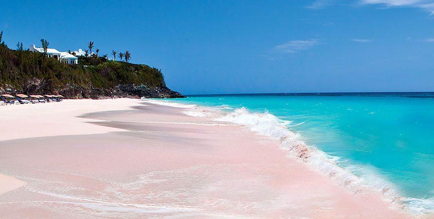 A koralloknak köszönhetően a homok rózsaszínű /boredpanda.com/