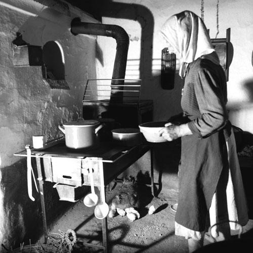 Paraszti konyha a 20. századból