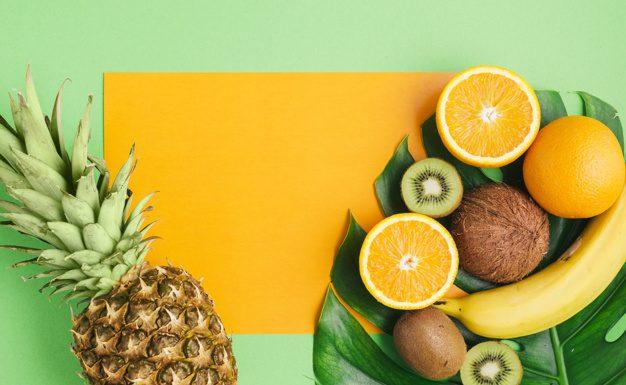 Egy gyümölcs vagy zöldség dekoráció színesíti az életterünket