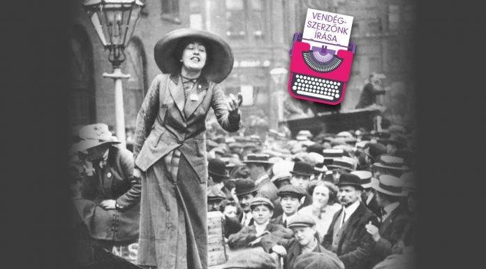 A feminizmus fontos alakja, Emmeline Pankhurst /forrás: :mirror.co.uk/