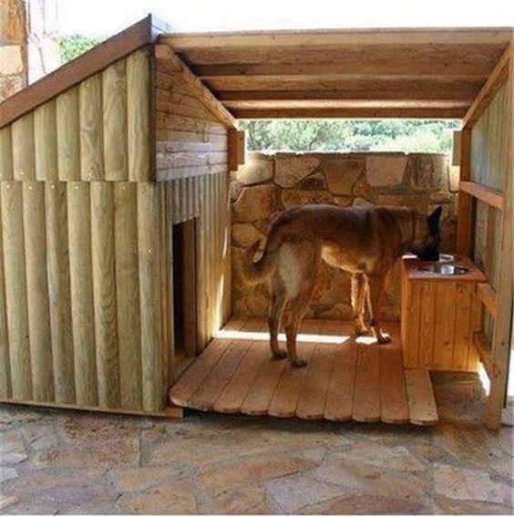 Kutyaház nagytestű kutyának