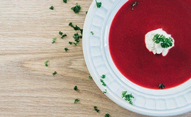 A cékla kiváló egy gyors, őszi leves elkészítéséhez