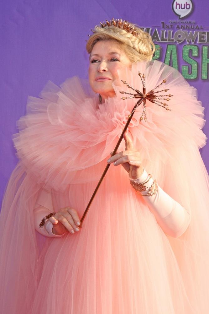 Martha Stewart, az üzletasszony, író és televíziós személyiség egy Halloween rendezvényen