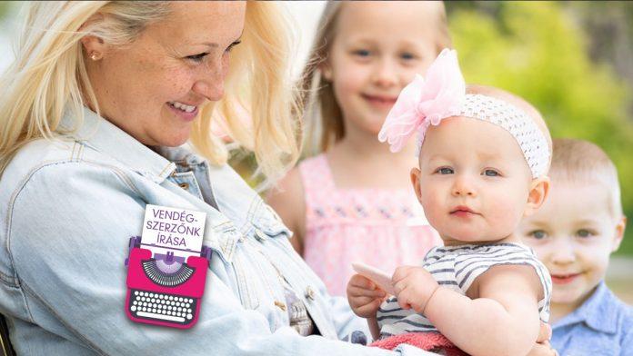 Egy főállású anya élete idővel más irányt vehet