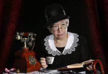 Az egyik főhős, Miss Marple