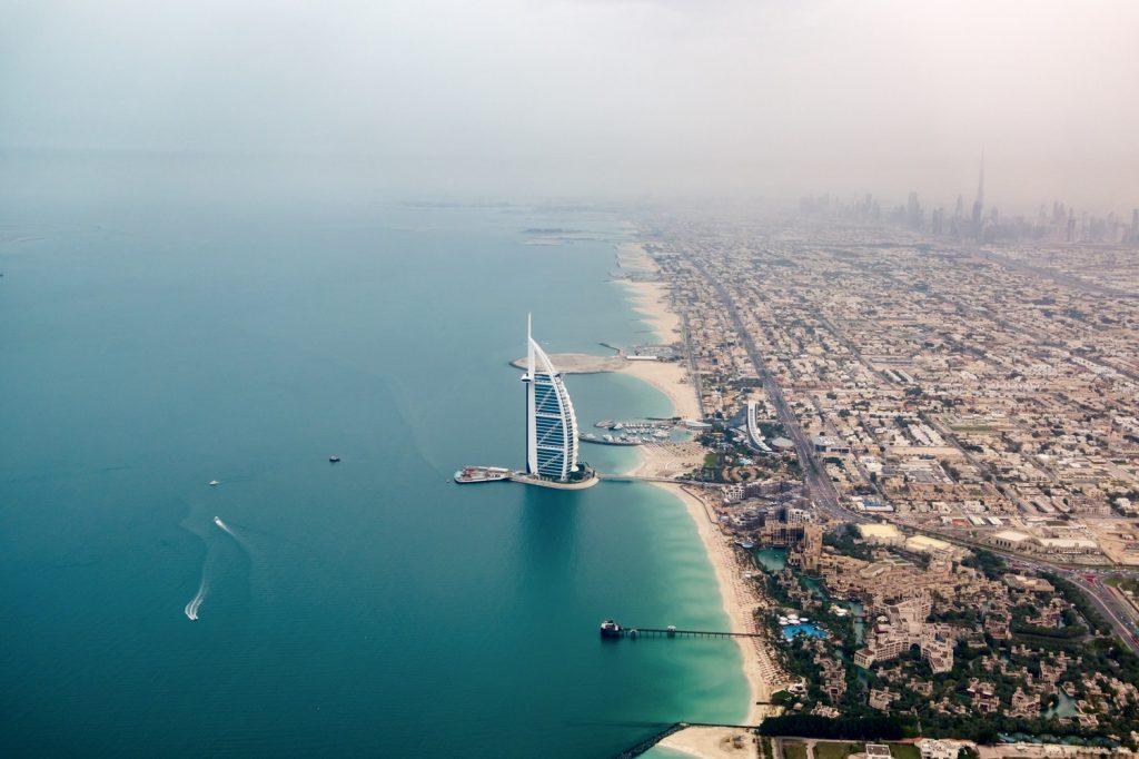 Dubai rendkívül gyorsan fejlődik