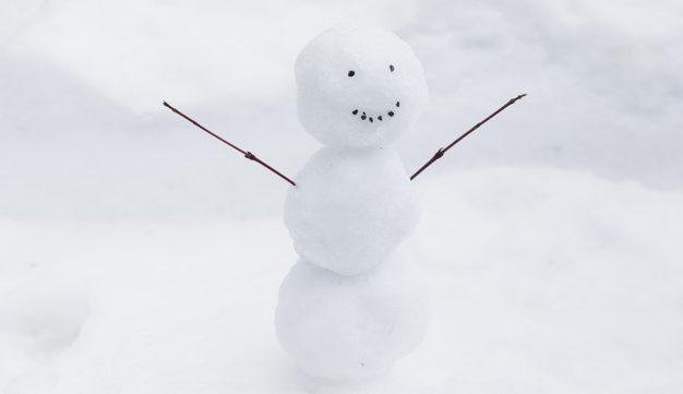 A tél nem múlhat el anélkül, hogy ne építenénk hóembert
