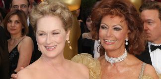 Meryl Streep és Sophia Loren