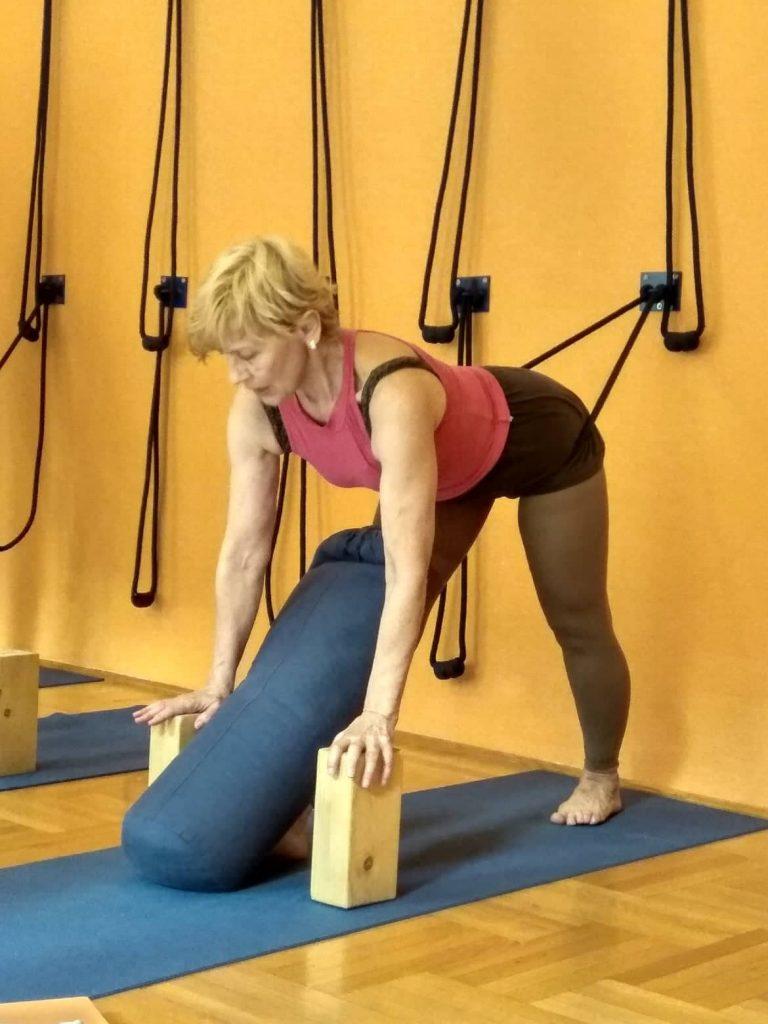 Iyengar jóga hatásai 50 felett