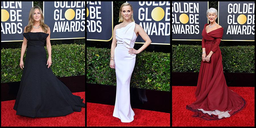 A Golden Globe-gála legjobb ruhái