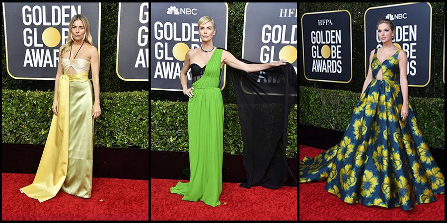 A Golden Globe-gála ruhái