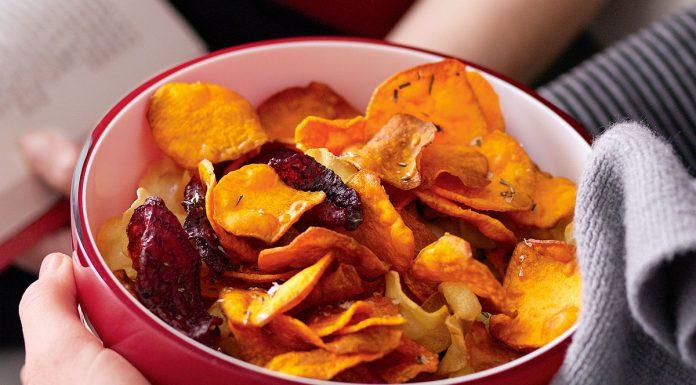 Így készül a tökéletes zöldségchips sütőben